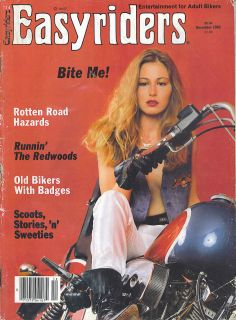 RARE December 1982 Easyriders Magazine
