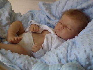 Baby Sunshine Nursery Reborn Baby Boy Doll Andi by Linda Murray The Cradle