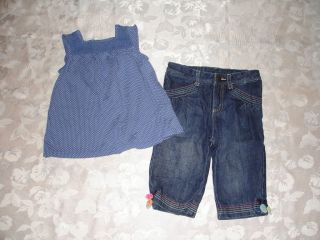 Huge Lot Girls Clothes Sz 2T Gymboree Baby Gap Hanna Andersson Summer