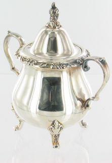 Vintage Wallace La Reine Silver Plate Tea Coffee Set