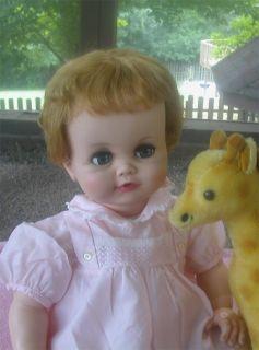 Vintage Flirty Eyed Madame Alexander Baby Genius Doll