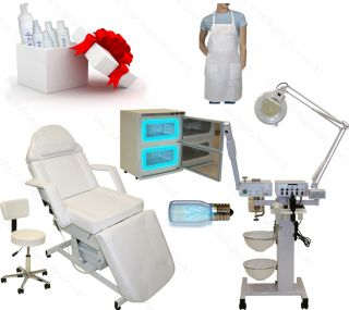 9 in 1 Facial Machine Electric Massage Table Chair Spa Beauty Salon Equipment