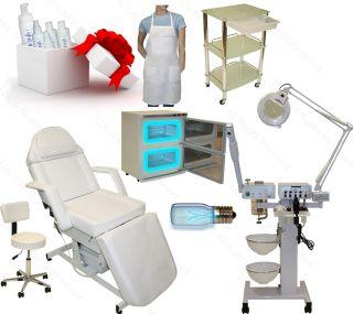 9 in 1 Facial Machine Electric Massage Table Chair Towel Warmer Salon Equipment