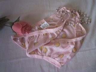 Cute Baby Pink Low Rise Cotton String Bikini Tanga Knickers M