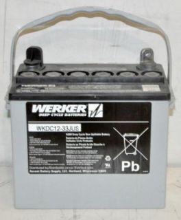 Werker WKDC12 33JUS Wheel Chair Deep Cycle Battery