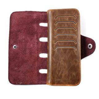 Mens Short Long Faux Leather Bifold Cowboy Style Hand Bags Case Purse Wallets