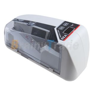 Bill Money Counter w Display Currency Cash Counter Bank Machine UV MG Detector