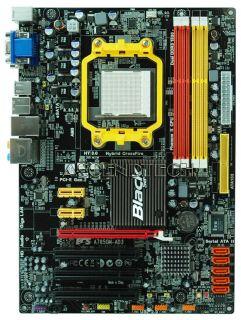 ECS A785GM AD3 Black V1 0 AM3 DDR3 SATA2 Hybrid Crossfire DVI VGA Motherboard