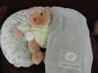 "OOAK Reborn Baby Boy from ""Lucy"" by G Jacques Sweet Pea Gymboree Clothes Boppy"