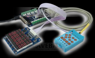 CNC Router DIY Units Upgraded 5 Axis Breakout Board Joystick 5 Axis Display