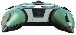 15' Saturn Inflatable Extra Heavy Duty Expedition Crossover Boat Kaboat SK470XLB