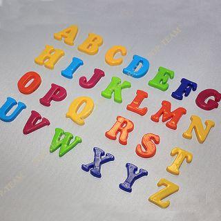 3 Styles 26 Letter Alphabet Number Sign Fridge Magnet Baby Educational Toy JZ9