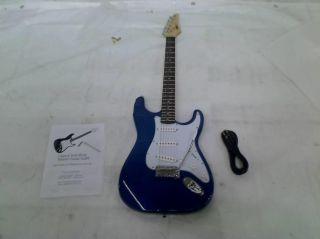 Legacy Solid Body Electric Guitar Metallic Blue $399 99