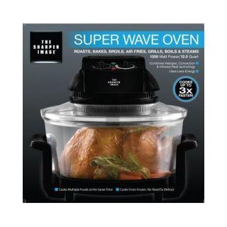 The Sharper Image Super Wave Oven 1300 Watt 12 1 2 Qt