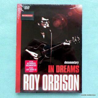 Roy Orbison in Dreams DVD CD New Bruce Springsteen Bee Gees Robert Plant Bono U2