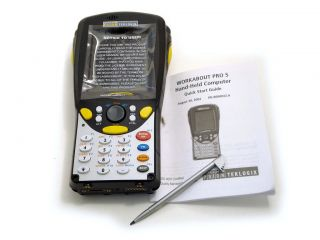 Psion Teklogix Workabout Pro G1 7525s Handheld Terminal No Scanner