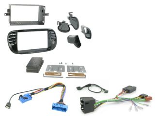 Fiat 500 2008 Car CD Stereo Double DIN Radio Replacement Fitting Kit CTKFT02