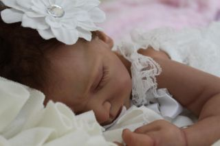 Enchanted Moments Nursery Reborn Baby Girl Noel Reese Kit by Andrea Arcello