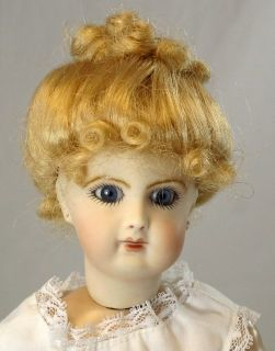 2004 French Antique Reproduction Fashion 12 inch Doll Seeley Body Jumeau Mold