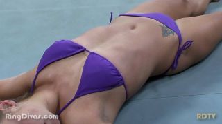 "Female Wrestling ""Ring Divas"" 5 Matches 1 Hour Long"