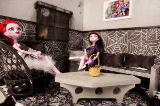 Monster High Custom Two Room Display and Decor