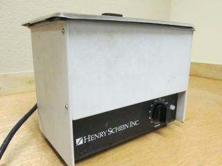 Henry Schein Ultrasonic Cleaner Model Hshein Dental Medical Lab Sink Bath Unit
