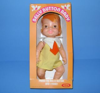 Vintage Belly Button Baby Doll 1973 by Ideal New in Box Cute Hard to Find Doll