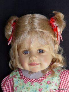 """Masterpiece Tuesday's Child Monika Levenig Doll 29"""" Blonde Dressed"""