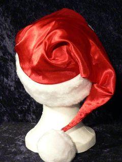 Victorias Secret Very Sexy Red Satin Santa Claus Santa Baby Hat O S