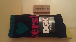 New DGK I Love Haters Socks 420 Plantlife HUF Marijuana Weed Leaf Skateboarding