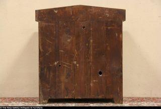 Pine 1870 Antique Chest Wash Stand or Vessel Sink Vanity