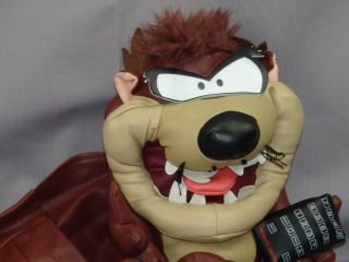 Looney Tunes Cartoon Tasmanian Devil TV Remote Control Holder Plush Taz Cool