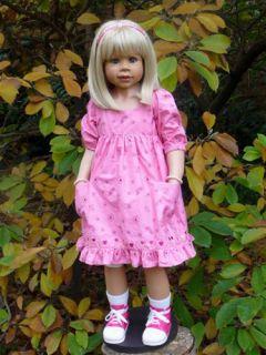 """Masterpiece Melody Monika Levenig Doll 39"""" Blonde"""