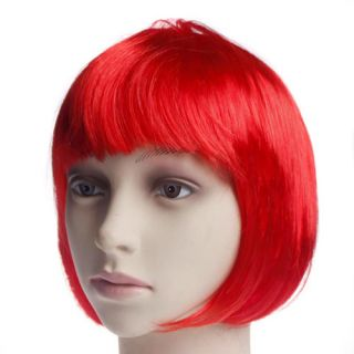 New Short Hair Bob Wig Heat Resistant Halloween Cosplay Costume Party