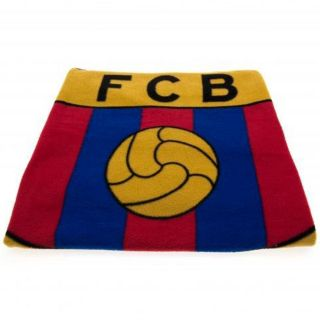 Barcelona Crest Fleece Blanket Bedding Official Free P P