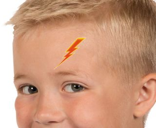 72 Lightning Bolt Tattoos Super Hero Temporary Kids Birthday Party Favors