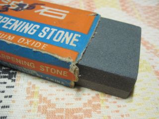 Vintage Diamond Brand Combination Sharpening Stone