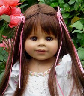 """Masterpiece Happy Birthday Kate Monika Levenig Doll 34"""" Brunette"""
