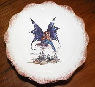 New Kitchen Fairy 12pc Set Serving Dinner Plates Bowls Cup Mug Amy Brown Retired