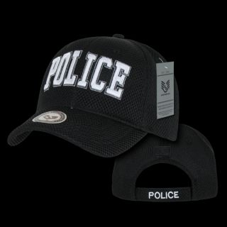 Hat Ball Caps US Security Public Safety Air Mesh Police Baseball Caps J002