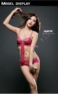 Sexy Lace Underwire Multi Way Bra Matching Panties Set 32 34 36 38 AA A B