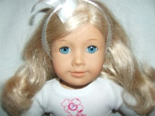 """American Girl Just Like Me 18"""" Doll Blond w Blue Eyes 2008 AG of Today Original"""