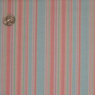 Moda Erin Michael Funky Monkey N Round Stripe Baby Blue Quilt Fabric Cotton