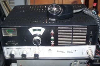 Teaberry Model T Base Station 23 Channels CB Radio PA