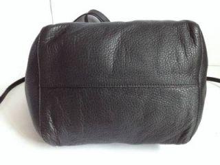 Michael Kors Black Leather Large Ashbury Grab Bag Tote Shoulder Bag $298 00