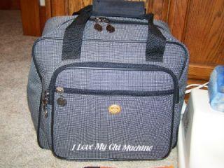 Sun Ancon Harmony SM 330 The Chi Machine Therapeutic Massager Leg Exerciser Bag
