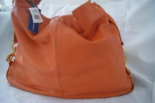 Rebecca Minkoff Large Nikki Burnt Orange Bag New