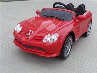 Licensed Mercedes Benz SLR McLaren 722s Kids Ride on Power Wheels Toy Car Red