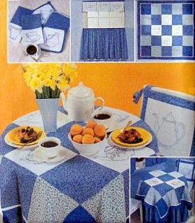 Tea Time Bluework Quilt Patterns