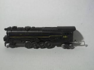 Lionel Postwar Big 6 8 6 Turbine Steam Engine Locomotive No 681 Missing Wheels